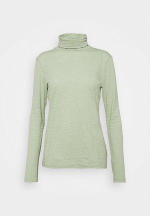 Long sleeved top - pistachio gray