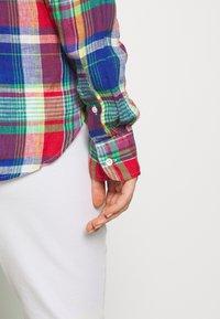Polo Ralph Lauren - GEORGIA CLASSIC LONG SLEEVE - Bluser - blue/red - 6