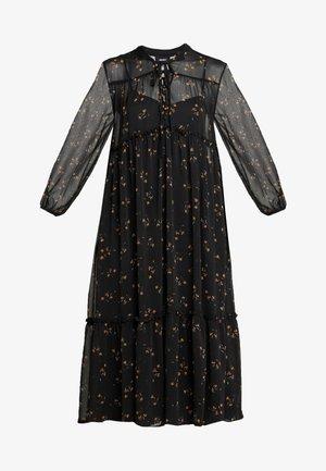OBJAVINAJA DRESS - Denní šaty - black