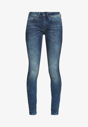3301 MID SKINNY - Jeans Skinny Fit - antic blue