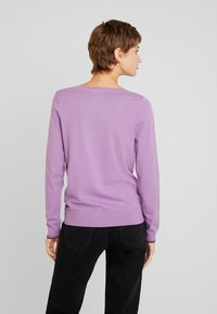 Tommy Hilfiger - BOAT NECK  - Sweter - dusty lilac - 2