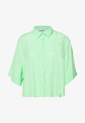 HALL - Hemdbluse - solid light green