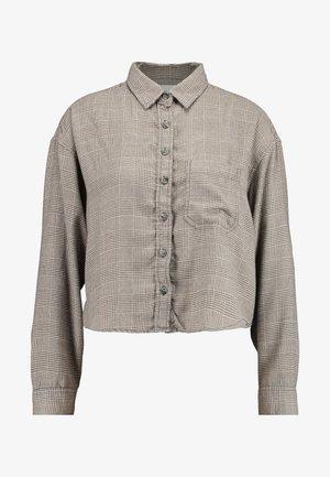 CORE CROPPED PENELOPE - Skjorta - gray