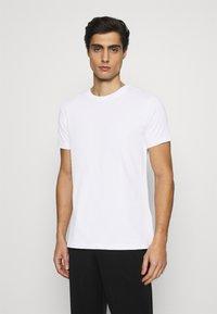 KARL LAGERFELD - CREW NECK UNDERSHIRT 2 PACK - Undershirt - white - 1