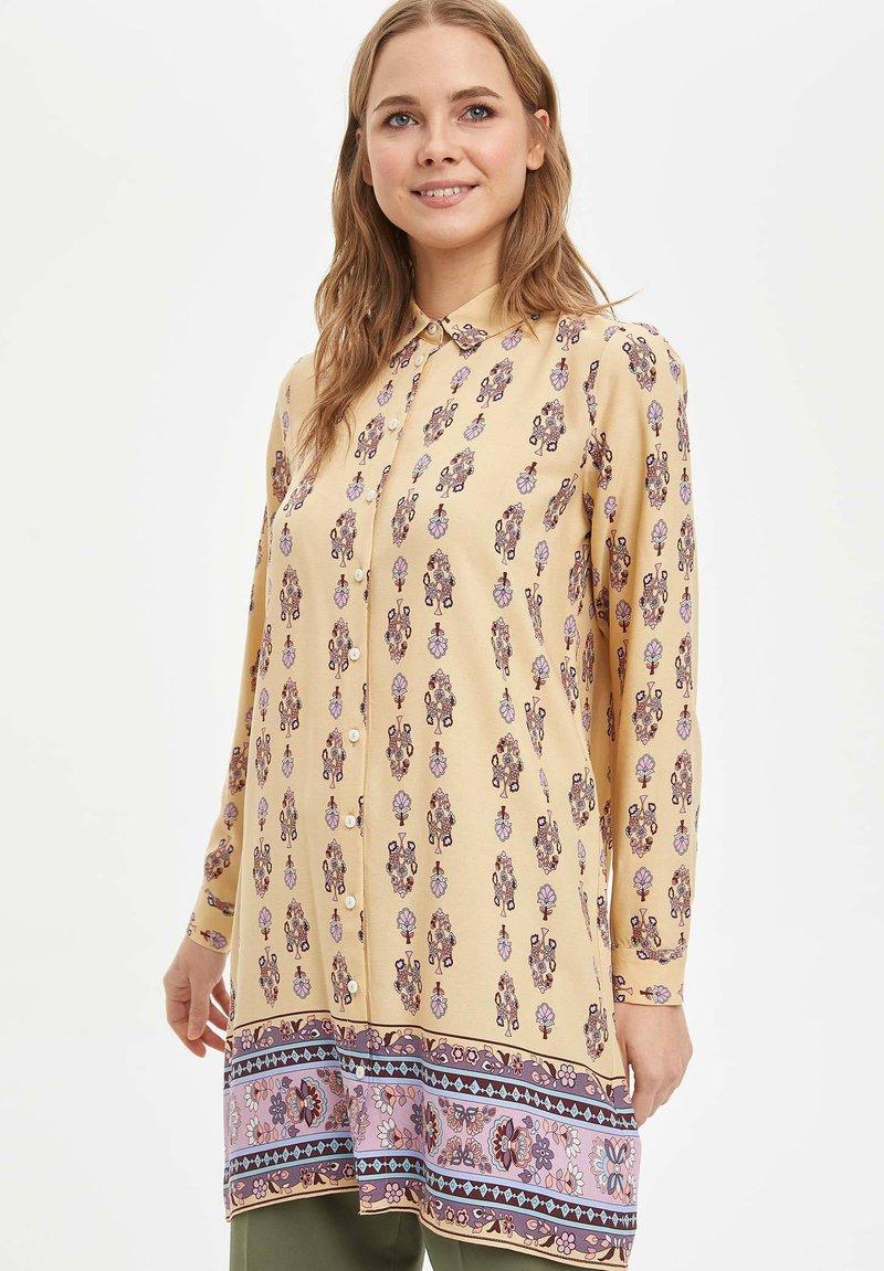 DeFacto - Button-down blouse - beige