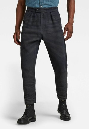 RELAXED WORKER CHINO - Relaxed fit jeans - vintage dark cobler