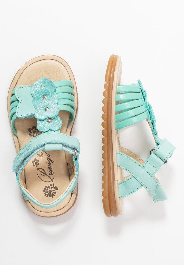Sandals - aquamarina