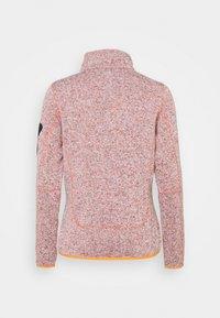 CMP - WOMAN JACKET - Fleece jacket - orange - 1