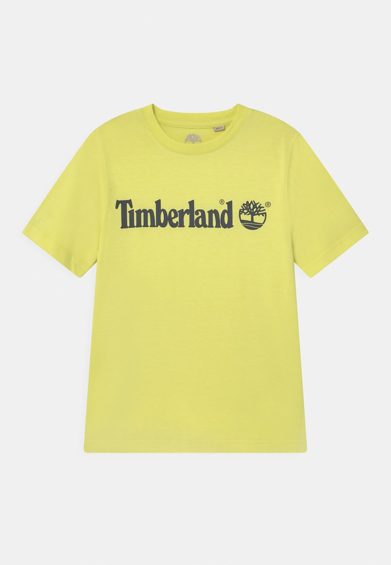 Timberland - SHORT SLEEVES - Print T-shirt - citrine