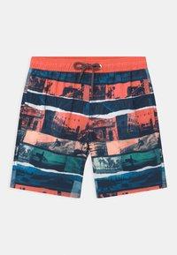 Sanetta - SWIM TRUNKS WOVEN - Swimming shorts - coral - 0