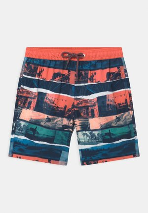 SWIM TRUNKS WOVEN - Swimming shorts - coral