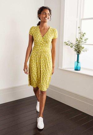 LOLA  - Jersey dress - schwefelgelb, strohblume