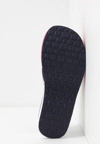 Tommy Jeans - CHUNKY TAPE BEACH SANDAL - T-bar sandals - twilight navy - 6