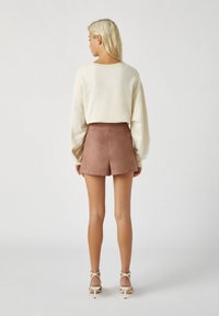 PULL&BEAR - A-line skirt - rose gold - 2