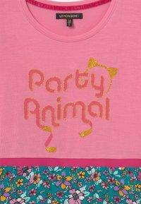 Lemon Beret - SMALL GIRLS DRESS - Jersey dress - sachet pink - 2