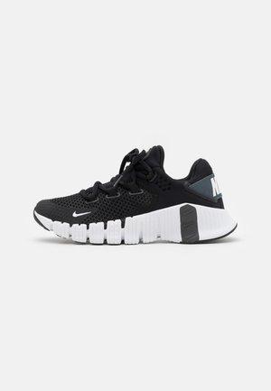 FREE METCON 4 UNISEX - Obuwie treningowe - black/iron grey-volt