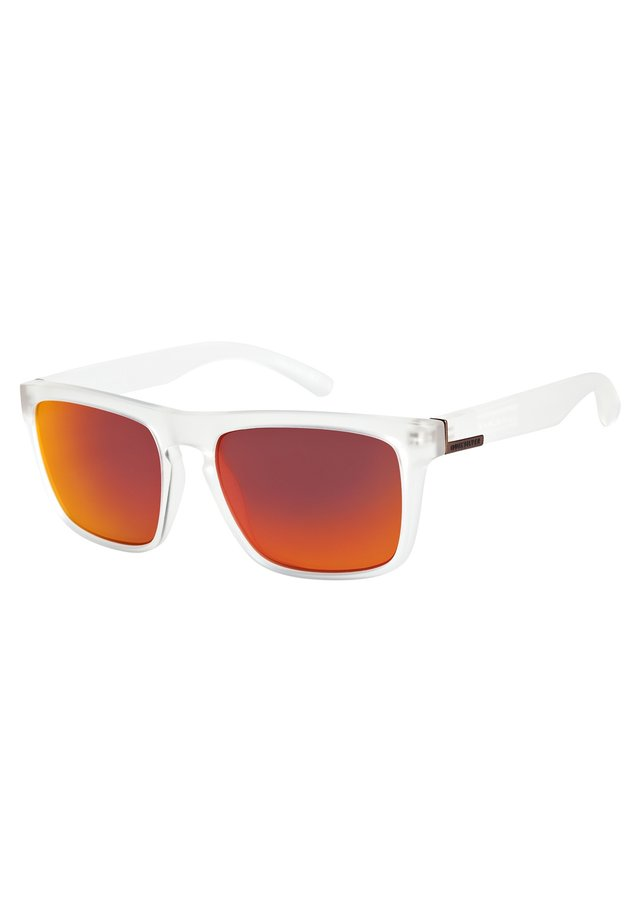 THE FERRIS - Sunglasses - matte crystal/ml red