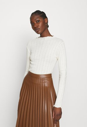 POINTELLA TRUTTE - Long sleeved top - offwhite