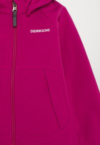 Didriksons - POGGIN KIDS - Soft shell jacket - lilac - 3