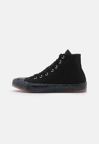 High-top trainers - nero