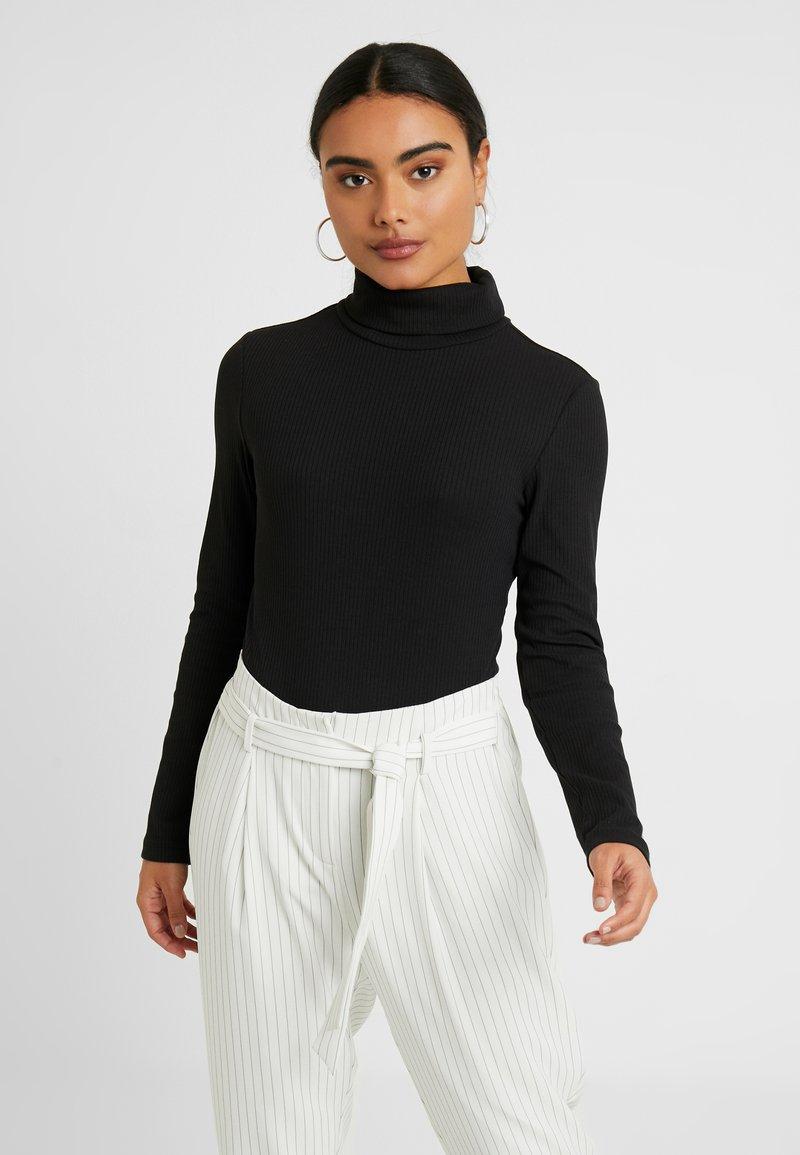 Zign Petite - Long sleeved top - black