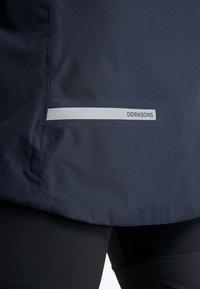 Didriksons - NOOR WOMENS - Waterproof jacket - dark night blue - 4