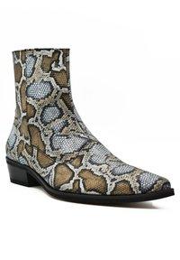 Fertini - Cowboy/biker ankle boot - serpentine gray - 1
