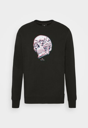 MENS REGULAR FIT SKULL - Mikina - black/multi-coloured