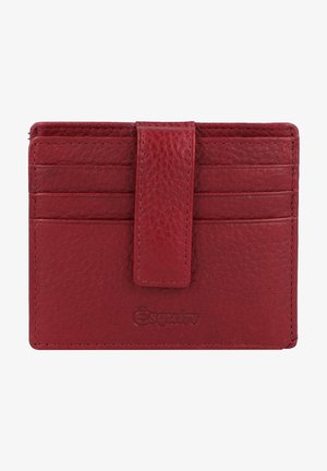 OSLO - Business card holder - rot