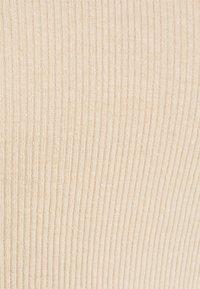 NU-IN - OFF SHOULDER HEART NECK - Long sleeved top - beige - 2