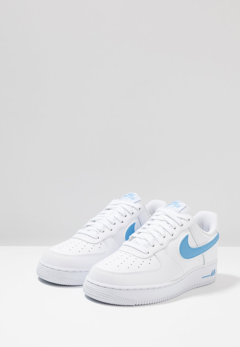 Nike Sportswear Air Force 1 07 Sneakers Laag White University Blue Wit Zalando Nl