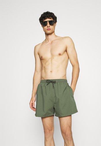 PEACHY SOFT BEACH SHORTS - Swimming shorts - khaki