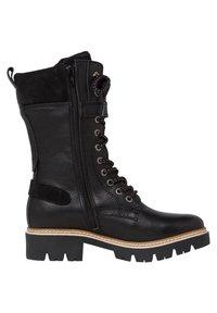 Tamaris - Cowboy/biker ankle boot - black comb - 2