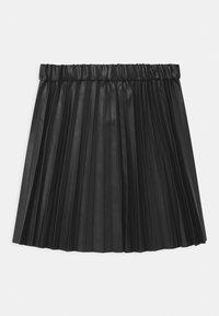 J.CREW - PLEATED - Áčková sukně - black - 1