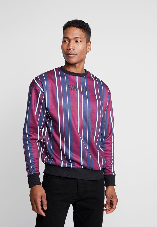 CETI CREW - Sweatshirt - burgundy