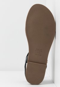 New Look Wide Fit - WITE FIT GOLLY GREAT COMFY FOOTBED - Sandaler - black - 6