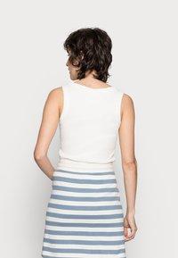 Rich & Royal - SKIRT - Mini skirt - smoked blue - 2