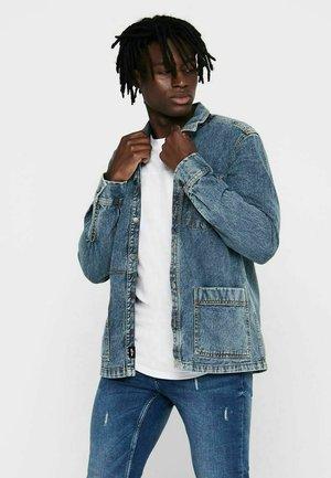 Giacca di jeans - medium blue denim