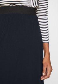 Kaffe - KAWILLE SKIRT - A-line skirt - midnight marine - 4