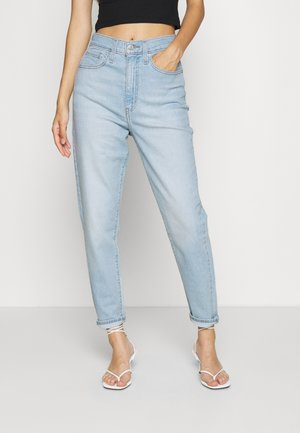 HIGH WAISTED - Jeans Tapered Fit - light-blue denim