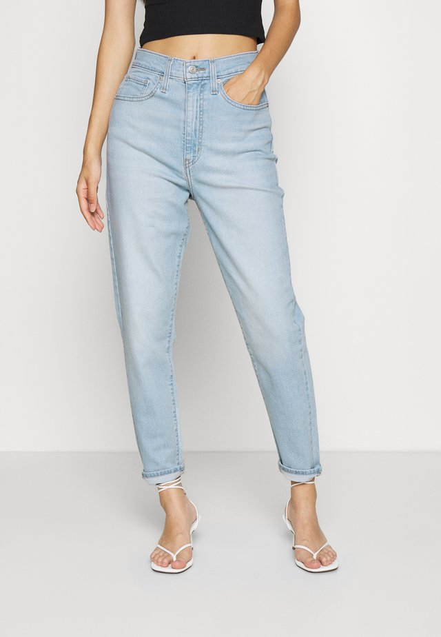 HIGH WAISTED  - Relaxed fit -farkut - light-blue denim