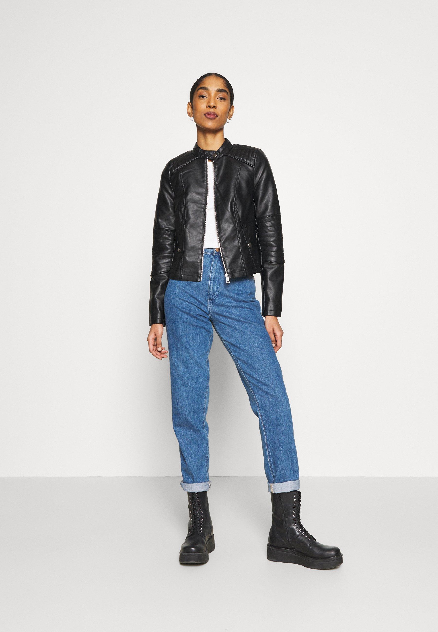 Women VMLOVECINDY COATED JACKET - Faux leather jacket