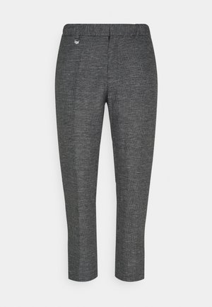 TROUSERS ARTHUR SLIM FIT BLEND FABRIC - Trousers - nero
