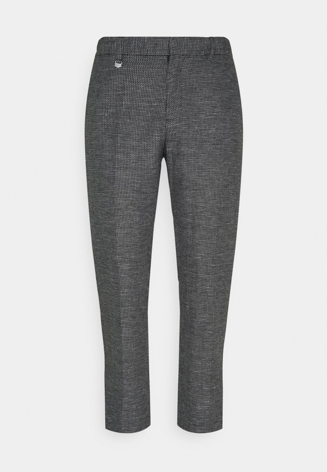 TROUSERS ARTHUR SLIM FIT BLEND FABRIC - Kalhoty - nero