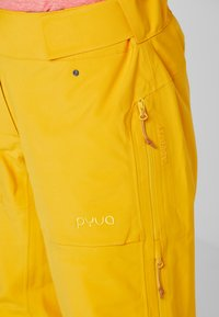PYUA - RELEASE - Snow pants - pumpkin yellow - 4