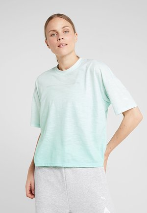 TEE - Camiseta estampada - fair aqua