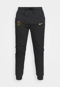 Nike Performance - INTER MAILAND TRAVEL PANT - Club wear - black/truly gold - 3