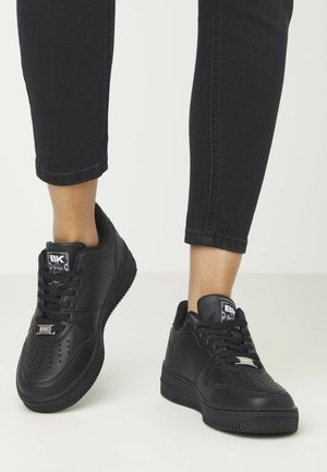 Trainers - black/black
