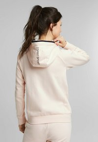 Esprit Sports - KAPUZEN - Zip-up hoodie - peach - 6