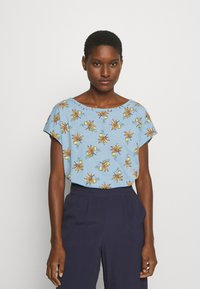 Esprit - TEE - T-shirts med print - light blue - 0